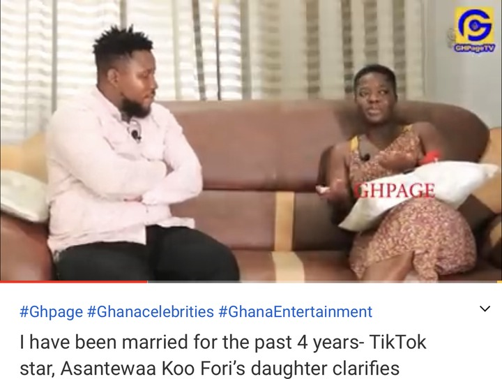 a559224982c5471b98f318a0a85573e1?quality=uhq&resize=720 - I Have Been Married For The Past 4-Years - Koo Fori's Daughter, Asantewaa Reveals