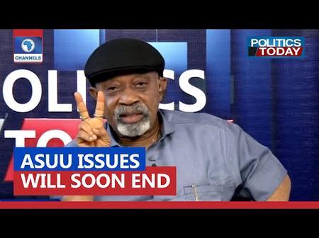 ASUU Strike: ASUU To Suspend Strike Soon- Chris Ngige