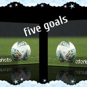 Three goals is called a Hat-trick, checkout what five goals are called