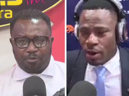 Kofi Adoma Boldly Tells His Colleague Is Too Early To Say On Air That NPP Will lose In 2024