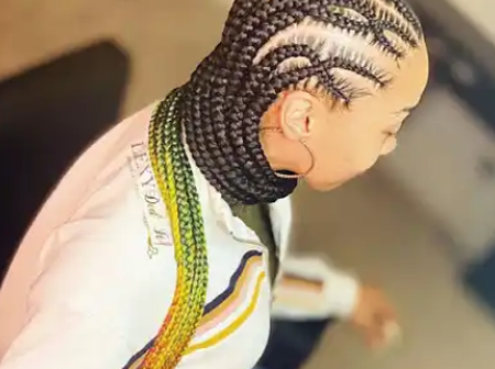 Ghana Braids Styles: Most Elegant Braided Hairstyles For Ladies (Photos)