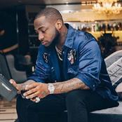 Photos of Davido, Wizkid and others with their phones