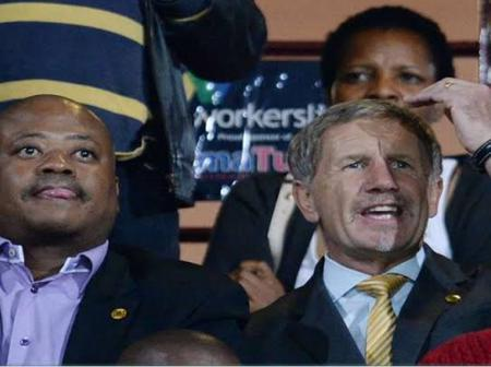 Stuart Baxter invited to watch derby by Bobby Motaung in Chiefs suite