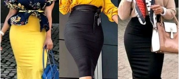 Ladies, check out different ways of styling your Pencil Skirts for work or casual look. Photos