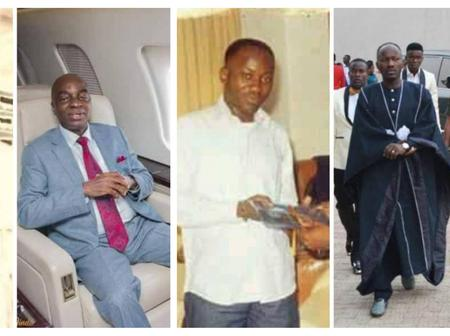 See Hilarious Throwback Pictures Of Some Nigerian Pastors.