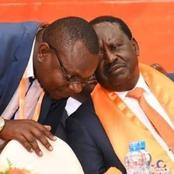 RIP: Raila Odinga's Man Send An Emotional Message As A Popular Person Is Laid To Rest