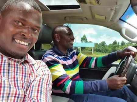 Inside DP Ruto's Toyota Land Cruiser 200 Series Worth Ksh 14 Million (Photos)