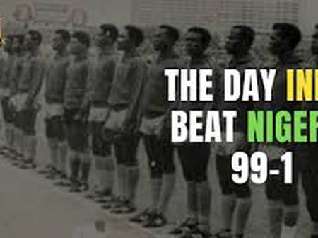 Throwback: India Did Not Score Nigeria 99-1, See What Truly Happened