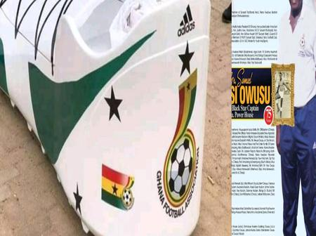 The Most Beautiful CASKET Used To Burry Former Player; It Befits The Legend-See Photos