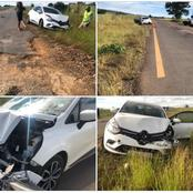 A man died in an accident after hitting a pothole: Mbalula replied it's not my responsibility