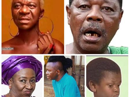 Check out hilarious photos of Nollywood stars featuring Mr Ibu, NkeM Owoh, Others