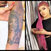 Bobrisky Gifts Fans That Tattooed Her Name On Their Bodies Money, Promises To Take Them To Dubai