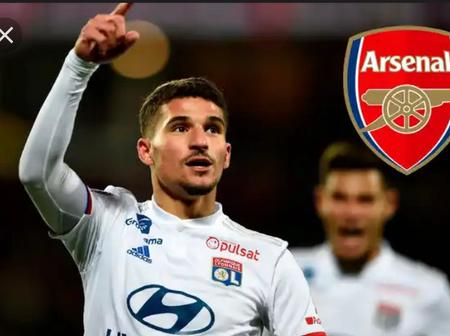 Transfer! Arsenal Houssem Aouar Pursuit Finally Comes To An end