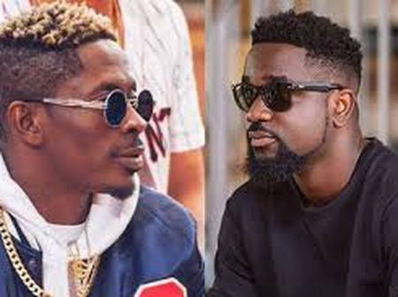 Shatta Wale is showing gratitude to his fellow Ghanaian artist; for the work they did together