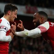 Arsenal Striker Lacazette Reveals Who Is Going To Wear Jersey Number 10 After Ozil's Exit