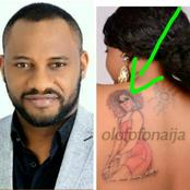 Reactions As Yul Edochie Says That It's Love For One To Tattoo His/Her Favorite Celebrity On Thier Body