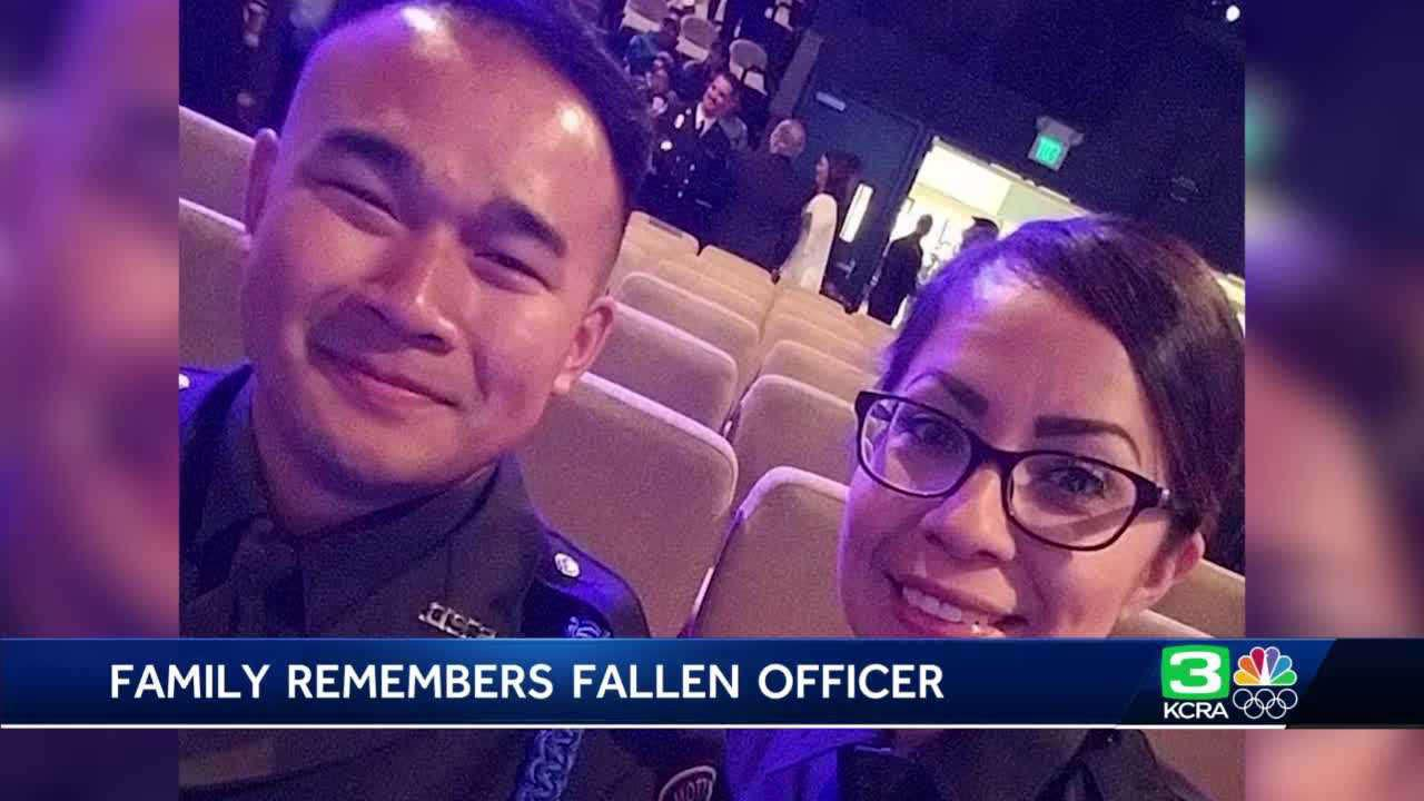 'It doesn't feel real': Father, wife remember slain Stockton Officer Jimmy Inn