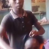 Young Boy Shook Mzansi On His Amazing Talent Of Being A Hair Dresser