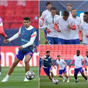 More Pictures Of Chelsea Players Training For Porto Second Leg Clash (PHOTOS)