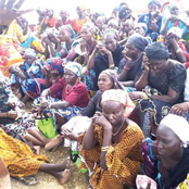 Family Members Of Kidnapped Chibok Girls Gather Together At An Event 7 Years After Their Abduction