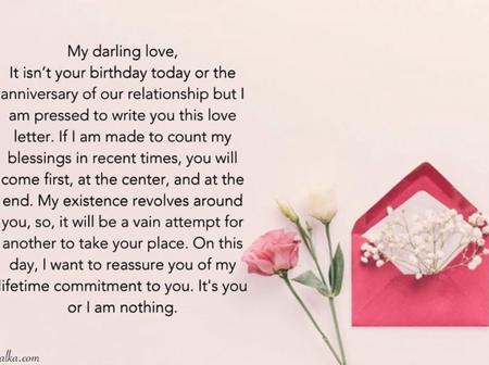 Love Letters for your lover