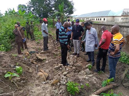 Unknown persons exhume remains of Ngelale, grandfather of Buhari's aide