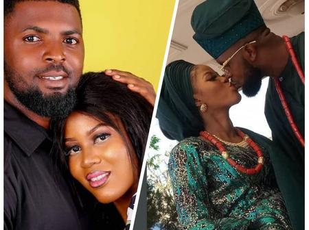 Check Out Hot Photos Of The Popular Yoruba Actor Who Got Married To The Love Of His Life Yesterday