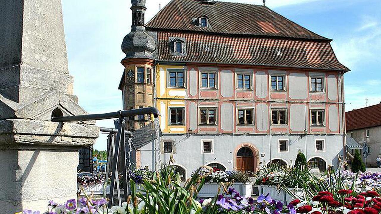 Rathaus Bad Königshofen: Die Hoffnung auf den großen Fördertopf
