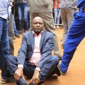 Just In :Moses Kuria Arrested At Night