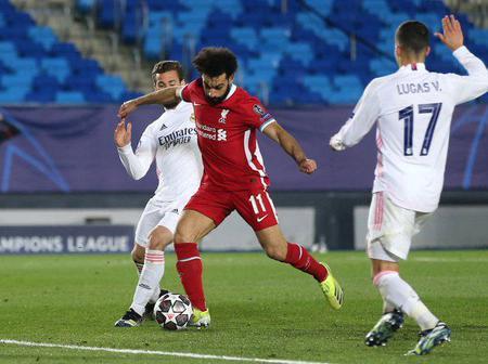 Despite loosing 3-1 to Real Madrid, Mohammed Salah sets new record