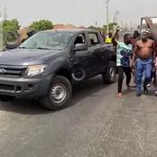 DSS, Police and Nigerian Army Joint Security Operatives attacked Sunday Igboho