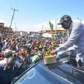 DP William Ruto's Grand Entry Into Kakamega Triggers Massive Reactions Among Kenyans