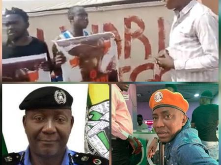 Sowore reveals what the police did to the two men who were caught pasting 'Buhari must go' in Kogi