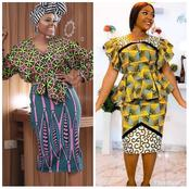 Ladies, Check Out These Gorgeous And Attractive Ankara Textures To Try This March