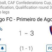 Primeiro de Agosto won 3-1 against Namungo in latest CAF Confederations Cup fixture