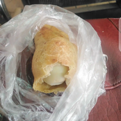 See What A Lady Found Inside The Meatpie She Bought At Onitsha