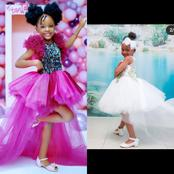Girl's Birthday Gowns Inspiration From Hamisa and Zari's Daughters