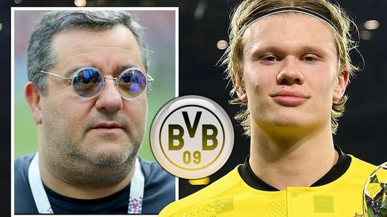 Mino Raiola explains Borussia Dortmund stance on Erling Haaland transfer amid Man Utd link