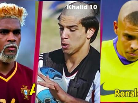 Famous footballers with strangest hairstyles in history of football (Photos)
