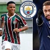 Man City Strikes  Summer Deal for Brazilian Ace Ahead of 2021/22 Season