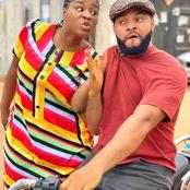Check out Photos of Destiny Etiko with Ken Eric and Stephen Odimgbe who slays better on set