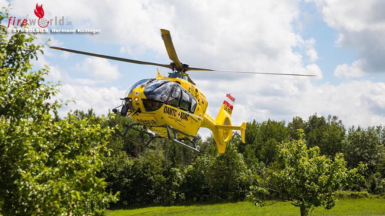 Oö: 13-Jährige holt nach Traktorunfall in St. Florian Hilfe → Vater kann Verunglückten befreien