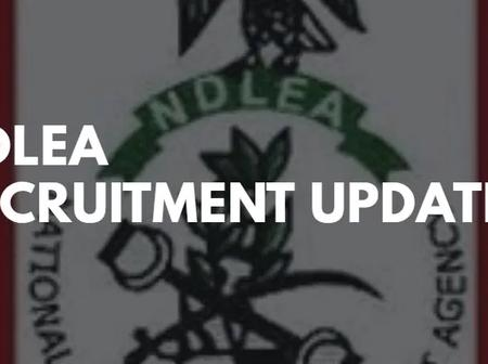 NDLEA shortlisted candidates. Check for details on the next stage