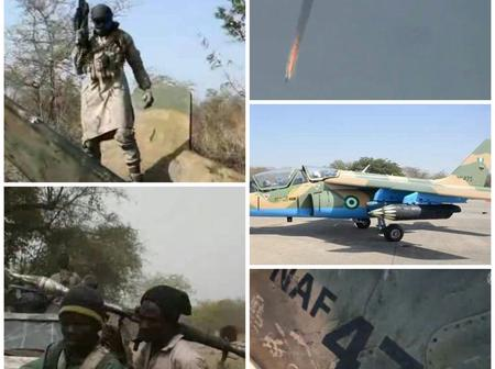 Missing Alpha Jet: Boko Haram Claims Militants Downed The NAF Fighter Jet, Releases Video