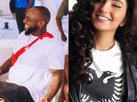 Congrats To Davido As He Bags Gold Certification, See Enisa's Reaction
