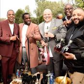 Popping gold bottles for Jay-Z massive partnership with moet Hennessey.