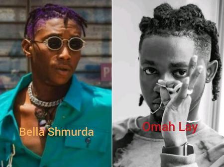 Battle Of Hits: Who Will Win Between Omah Lay & Bella Shmurda?