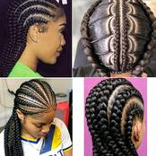 Ladies, If You Have No Money For A Bone Straight Wig, Here Are Some Fashionable Braid Style