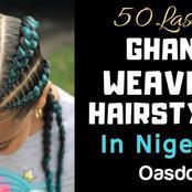 55 Latest Ghana Weaving Hairstyles In Nigeria 2020