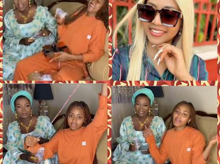 Reactions As Regina Daniels Shares Video To Flaunt Her Waistbeads And Aphrodisiac Chocolate Worth 5M